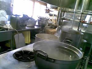 2010年1月1日 あるホテルの厨房