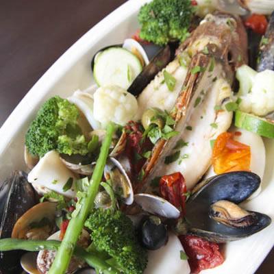 ディナー写真:メイン(魚料理)
