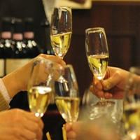 ワイン飲み放題の歓送迎会プランで乾杯!